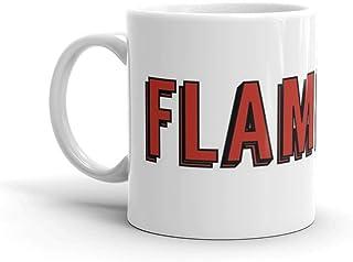 Flamengo Mug 11 Oz White Ceramic