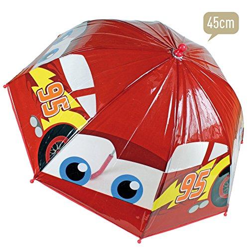 Paraguas Cars Disney burbuja manual 45cm