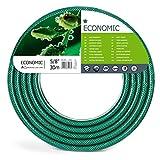 Cellfast 10-011 Gartenschlauch Economic, 5/8' x 30 m, 3-lagiger, transparent grün