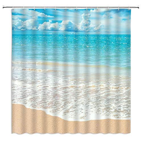 Ocean Beach Shower Curtains