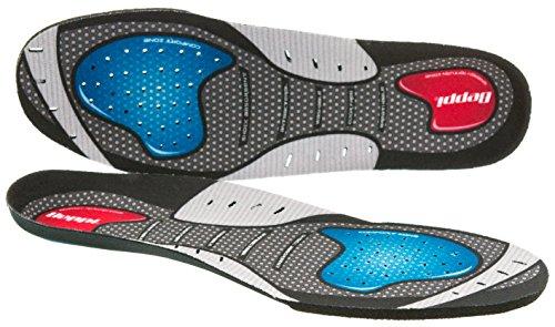 Beppi Hi-Performance Einlegesohlen aus EVA-Material| Atmungsaktive und antibakterielle Schuh-Einlage | Komfort-Sohle für Damen und Herren, Größe 37