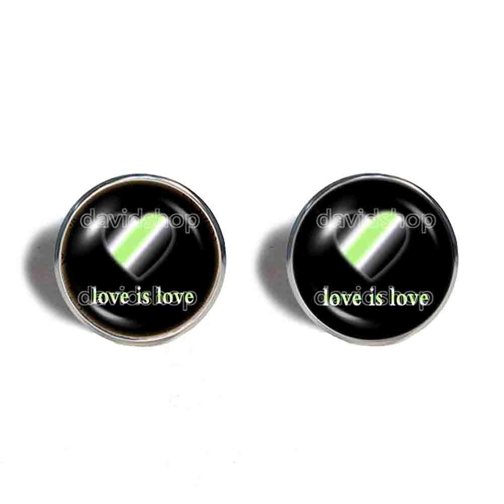 Love Is Agender Pride Super-cheap Direct sale of manufacturer Earrings Cuff Jewelry Ear Hea Fashion