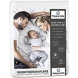 Protector para la incontinencia 75x90cm | 100% impermeable para el colchón | Protector absorbente...