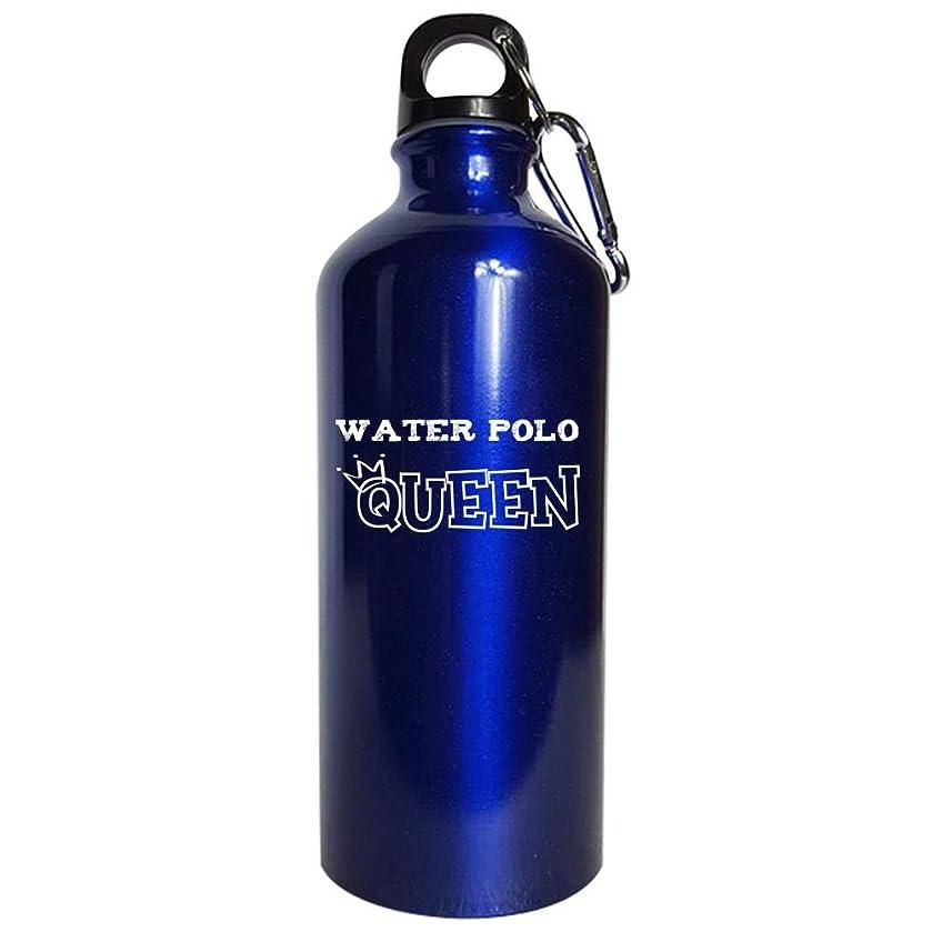 Water Polo Queen - Water Bottle Metallic Blue