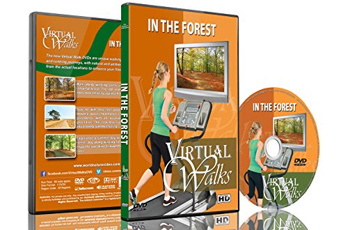 Promenades virtuelles au cœur de la forêt pour marche...