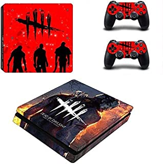 Mr Wonderful Skin PS4 Slim Whole Body Vinyl Skin Sticker Decal Cover for Playstation 4 System Console and Controllers – Devil game