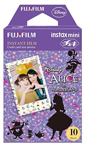 Fuji Instax Mini film–Disney Alice nel paese delle meraviglie | Utilizzabile con Polaroid mio & 300