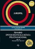 Temario oposición escala básica policía nacional: Vol. III: Preguntas tipo test (más de 9.000 preguntas) (Derecho - Práctica Jurídica)