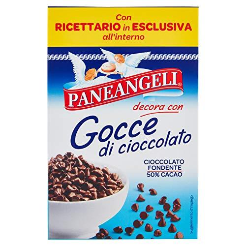 Paneangeli Gocce di Cioccolato Fondente, 50% Cacao, 125 gr