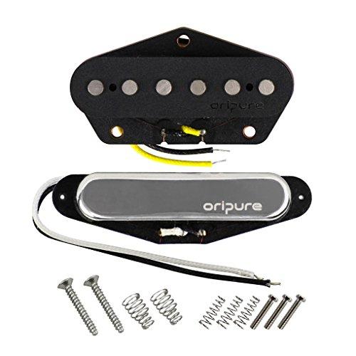 OriPure Guitar Alnico 5 Tonabnehmer Hals & Brücke Tonabnehmerset für Fender Telecaster Gitarren Tonabnehmer Teile