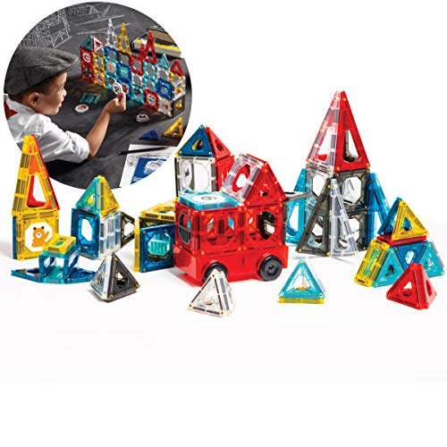 150 Pcs, FAO Schwarz Piece Magnetic Tiles Set -$50.99(66% Off)