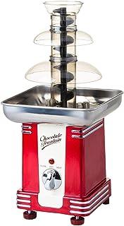 3 Tiers Chocolate Fountain Classic Retro Table Top Machine Mini Melting Machine Chocolate Waterfall Fondue for Home Weddin...