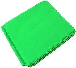 BeMatik - Fondo de Estudio fotográfico de 300x300cm Tela de Color Verde cromakey