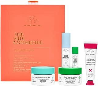 Drunk Elephant The Midi Committee Kit. Travel Size Top-Rated Skin Care Essentials Bundle (Cleanser, Peptide Moisturizing Cream, Hydrating Serum, Retinol Cream)