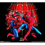 カスタム3d壁紙壁画3dステレオ背景寝室壁紙バー壁画ktvテーマボックススパイダーマン壁画壁紙