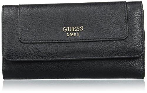 Guess Swvg6784660, Bolsa de mensajero para Mujer, Negro (Nero), 2x10x21 cm (W x H x L)