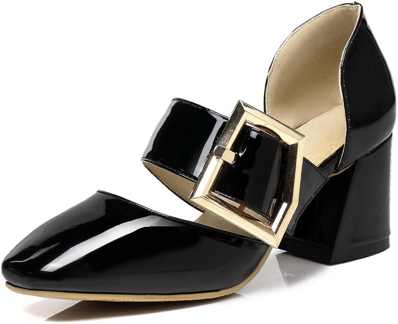 BalaMasa Womens Fashion Cold Lining Waterproof Urethane Sandals ASL05098