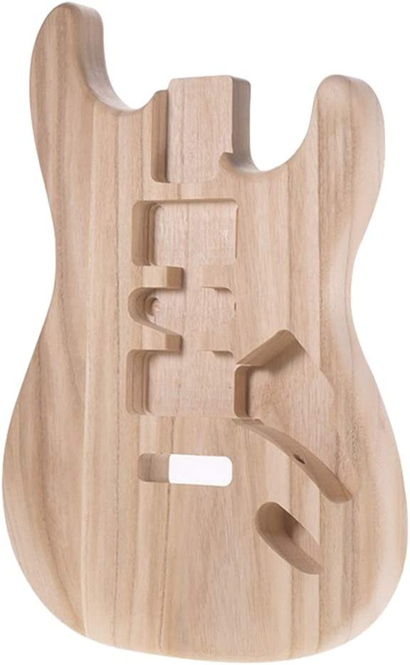 Generic Unfinished Electric Philadelphia Mall Guitar Body Material for Barrel G Portland Mall ST