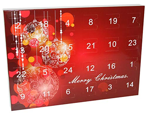 Edelstein Adventskalender - Winterlandschaft