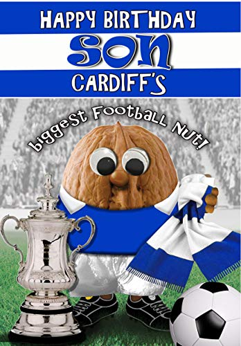 Birthday Card for Son – Cardiff City - Football Sports Nut