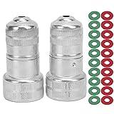 Surebuy Lavadora de terminales de batería, 22 Piezas/Juego Limpiador de terminales de batería Limpieza anticorrosión para columnas de batería de electrodos positivos y Negativos para baterías de