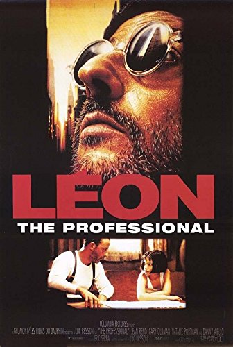 Close Up Léon - Der Profi: A (1994) | US Import Filmplakat, Poster [68 x 98 cm]
