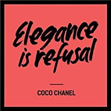 Spoil Your Wall Frames, Coco Chanel Quotes Poster Frames, Home Decor, Wall Frame