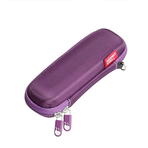 Hermitshell Hard EVA Protective Case fits Panasonic ES246AC Bikini Shaper Trimmer Women Compact Purple