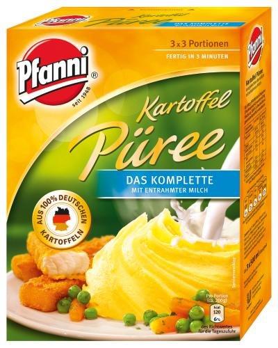 Pfanni Kartoffel Püree das Komplette, 7er Pack (7 x 3X3 POR Packung)