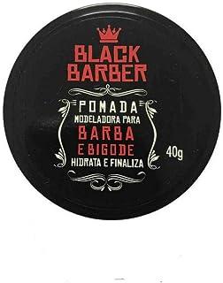 Black Barber Pomada Modeladora Barba e Bigode 40g, Muriel