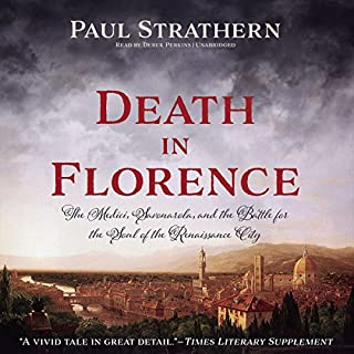 Death in Florence audiobook cover art