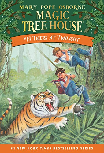 Tigers at Twilight (Magic Tree House Book 19) (English Edition)