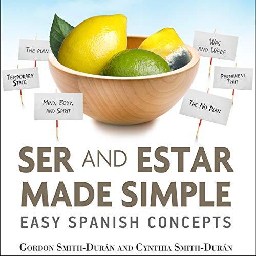 Page de couverture de Ser and Estar Made Simple