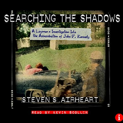 Searching the Shadows audiobook cover art