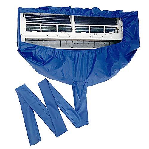 Cobeky Funda de limpieza de aire acondicionado para el hogar, impermeable y a prueba de polvo, con puerto de drenaje