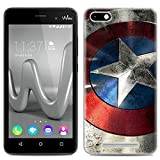 Aksuo Coque for Wiko Lenny 3, Impression qualité Ultra Mince Premium TPU Silicone [Crystal Clear] Premium Transparent/Exact...