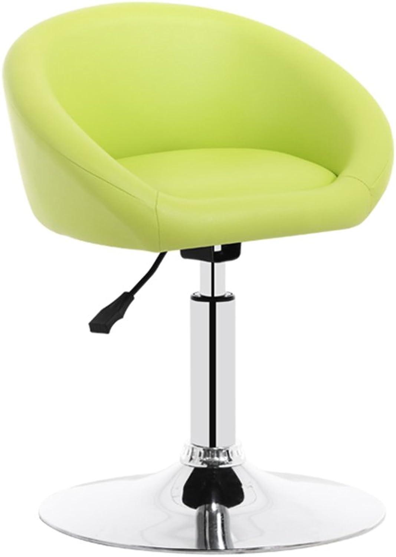 Chair Bar Chair Breakfast Chair Comfort Sponge Metal Plated redating   Adjustable Height (Size   Height 73CM)