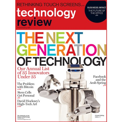 Audible Technology Review, September 2011 audiobook cover art
