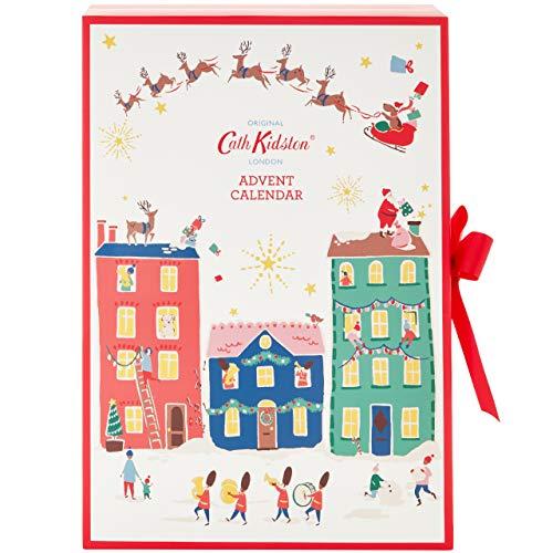 Cath Kidston - Calendario de Adviento de Navidad con 24 artículos de baño y cuerpo