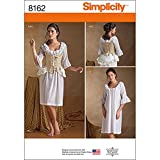 Simplicity 8162 Women's 18th Century Undergarments Historical Costume Sewing Pattern, Sizes 14-22