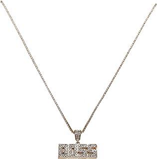 Urban Classics Boss Necklace Gemelli, gold, taglia unica Unisex-Adulto