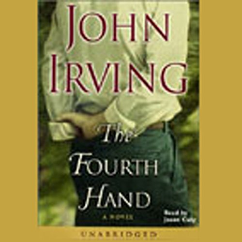 The Fourth Hand audiobook cover art