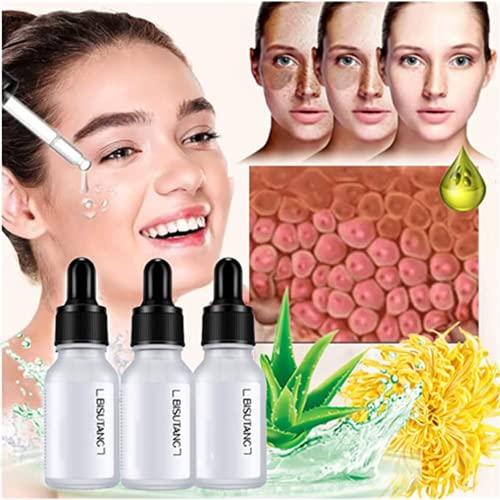 LDMD 3PCS Melanin Removal Skin Balance Serum, Hydrating Brightening Face Serum, Minimizes Wrinkles, Blemish Recovery Serum, Anti-Aging Serum, Lightening Spots and Wrinkles Brightening Skin