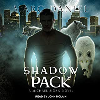 Shadow Pack audiobook cover art
