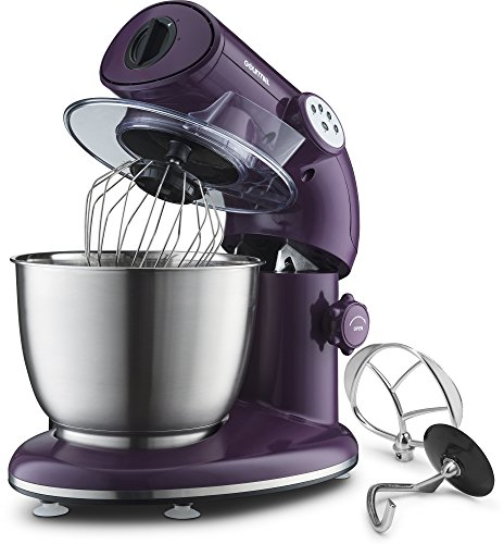 Gourmia EP600 Planetary Action Stand Mixer with Stainless Steel Bowl...