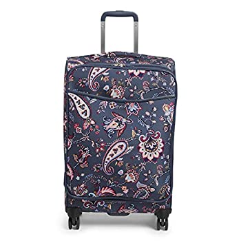 Vera Bradley Women s Softside Rolling Suitcase Luggage Felicity Paisley 27  Check In