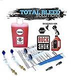 Total Bleed Solutions TBS RockShox - Kit de Purga de Asiento con líquido de 2,5 W (100 ml)