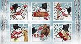 Schneetage Schneemänner Urlaub Weihnachtsblöcke, 100%