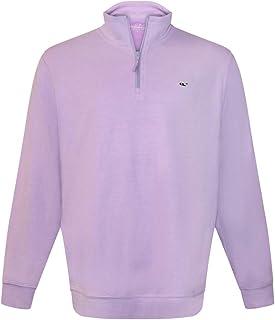 Vineyard Vines Men's Broadfield 1/4 Zip Solid Sweater