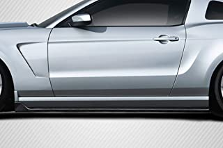 Carbon Creations Replacement for 2005-2014 Ford Mustang GT350 Look Side Skirts - 2 Piece